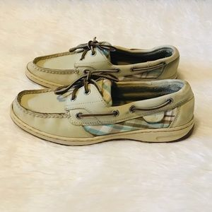Sperry Leather Boat Shoes Size 8